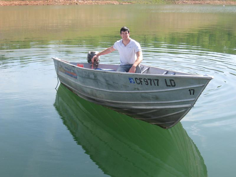 15' Aluminum Fishing Boat