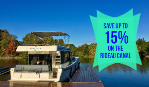 Save up to 15% on the Rideau Canal