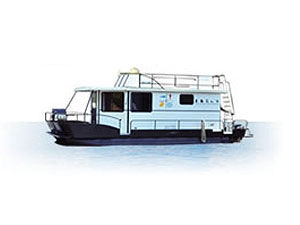 36 Foot Voyageur Class Houseboat