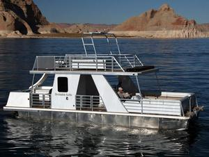 36 foot Weekender Patio Boat Houseboat