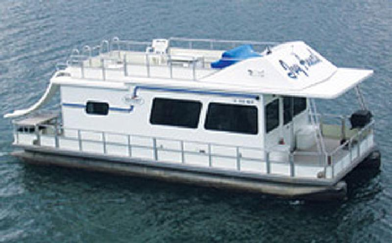 39 Foot Deluxe Keycraft Cruiser Houseboat