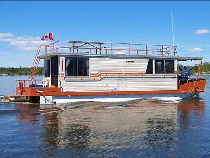 Lake of the woods houseboats rentals for Houseboats for rent in california