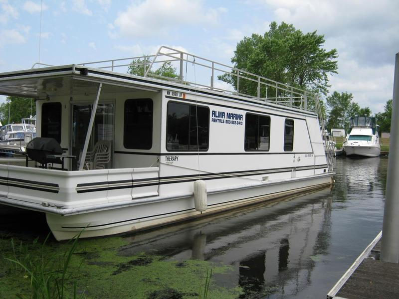 48 foot Therapy Houseboat