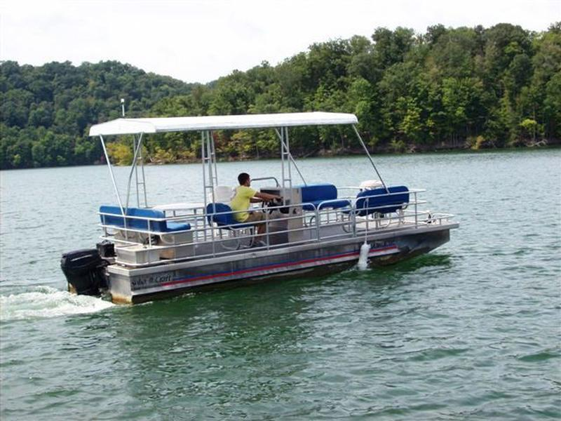 Pontoon boat 50 hp gearbox