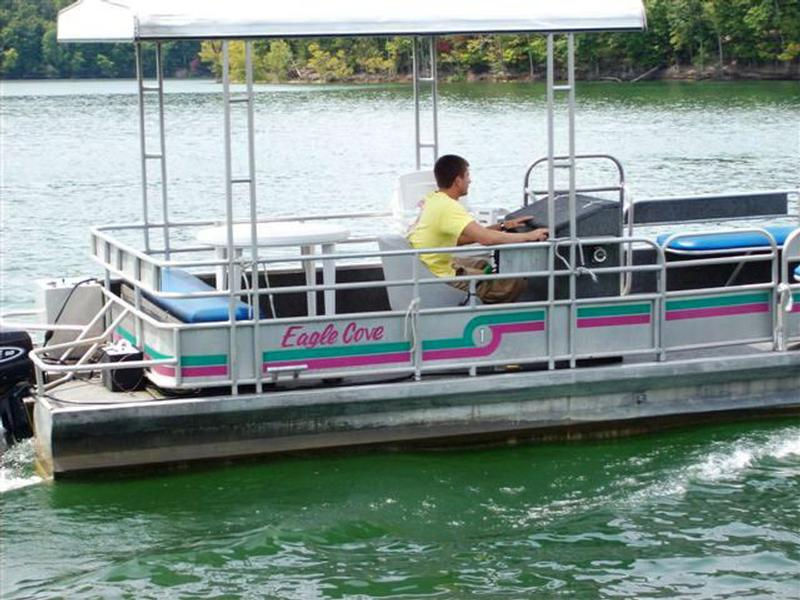 48 or 50 HP Standard Pontoon Boat