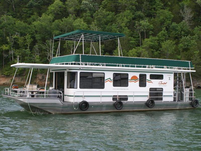 50 Family Cruiser Houseboat On Dale Hollow Lake