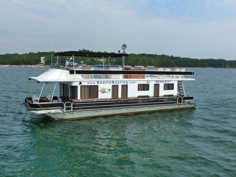 53 foot deluxe houseboat for Houseboats for rent in california