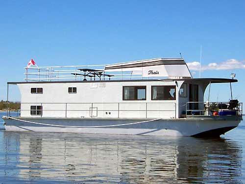 53 Foot Houseboat
