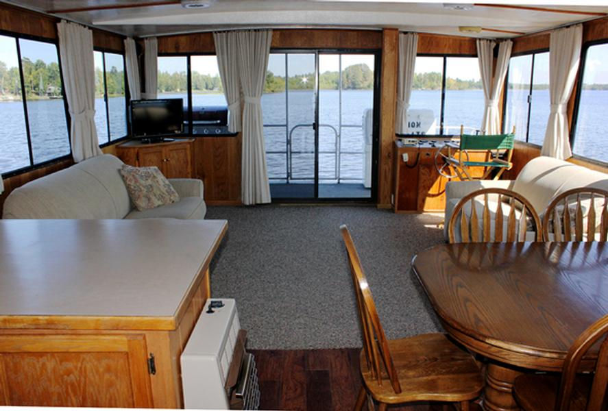 55 Foot Cruiser Houseboat