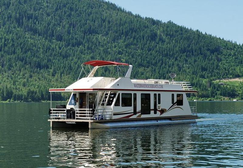 56 Mirage Houseboat on Pontoon Boat Rentals Lake Travis