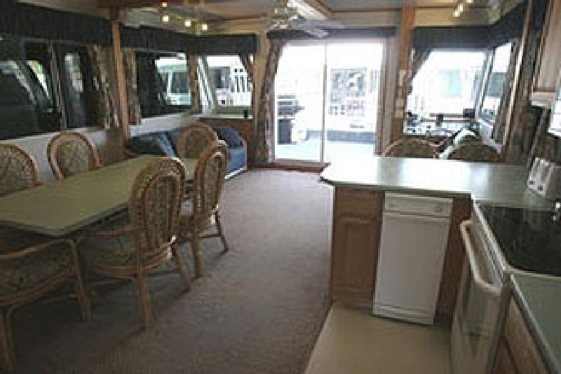 60 Foot Silver Houseboat
