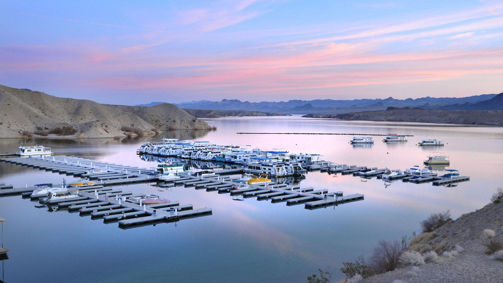 Morning Calm at Cottonwood Cove, Lake Mohave