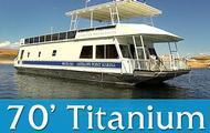 70' Titanium Houseboat