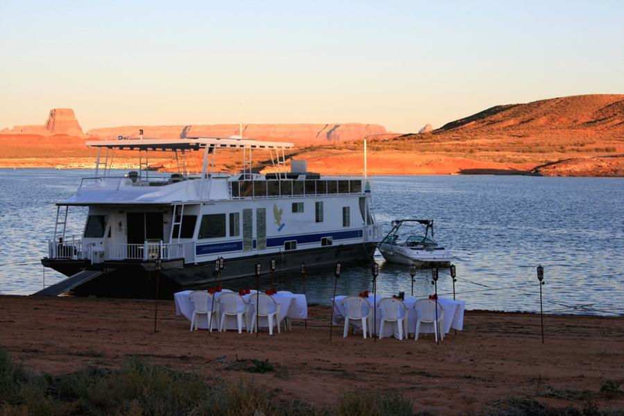 70 Foot Gold Houseboat