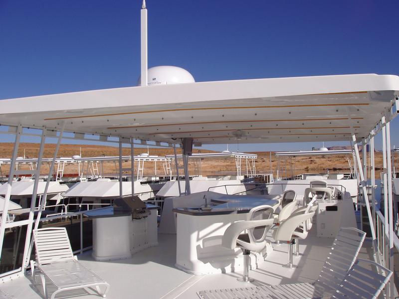 75 Foot Platinum Houseboat