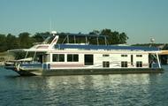 80' Luxury Cruiser Houseboat