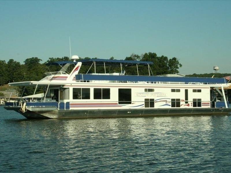 Kentucky lake houseboats rentals for Houseboats for rent in california