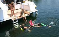 Plenty of diving opportunities in Bull Shoals Lake