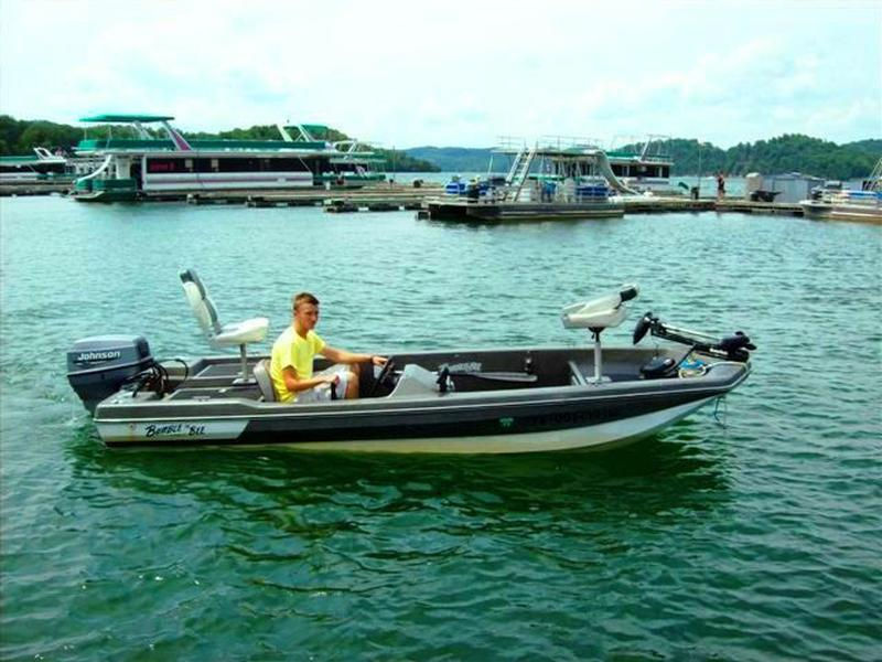 Bumble Bee Bass Boat