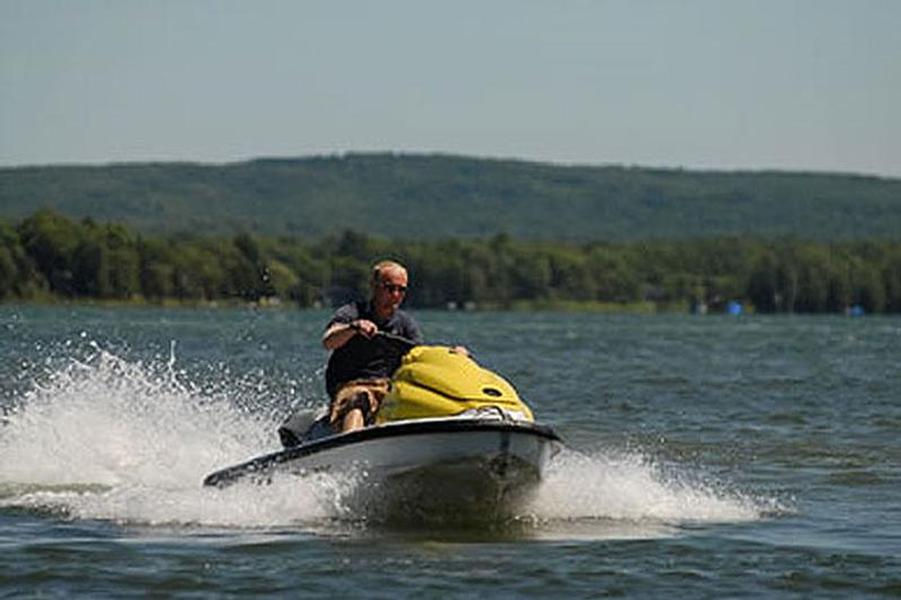 Get away with speed and agility on a personal watercraft