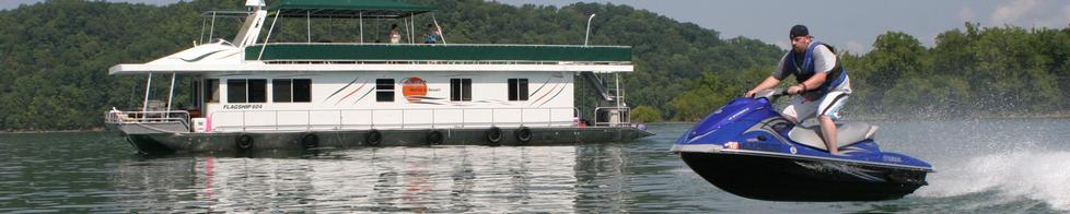 Rent a PWC with your Houseboat