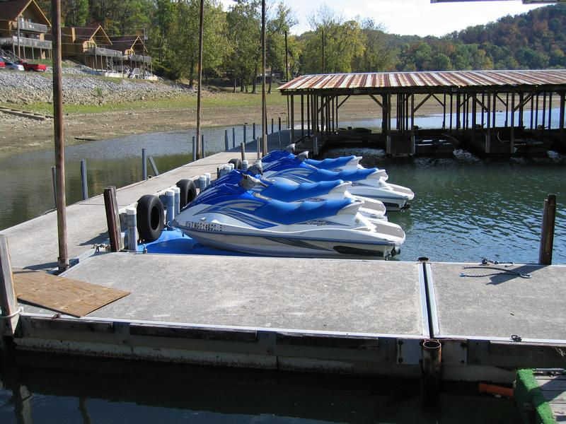 Personal watercraft add speed and excitement to your houseboat vacation