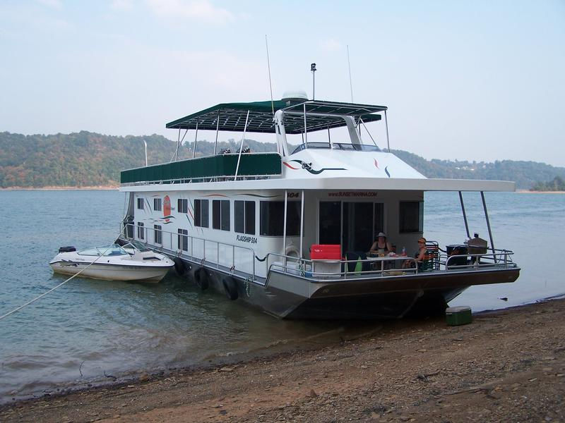 Your houseboat will be your home away from home in the outdoors