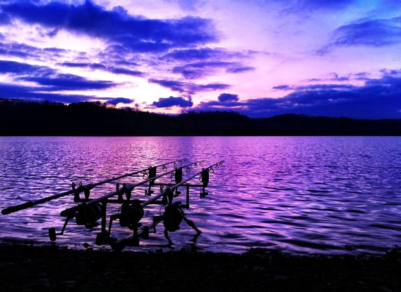 Surreal sunsets at Dale Hollow Lake offer a tranquil and scenic escape