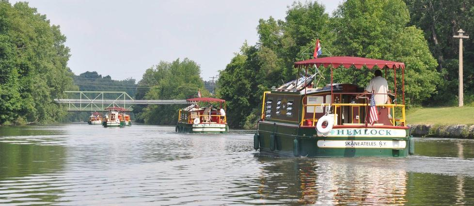 Explore the Erie Canal at your own pace