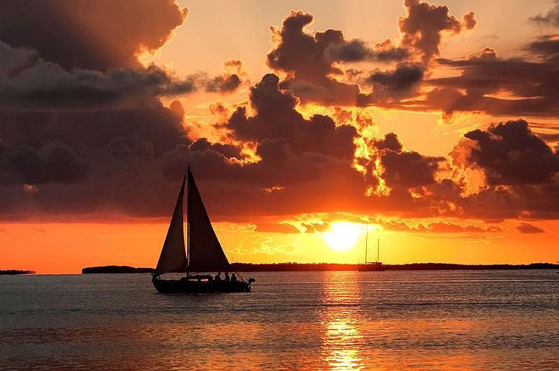 Gorgeous sunsets are the norm in the Florida Keys Photos