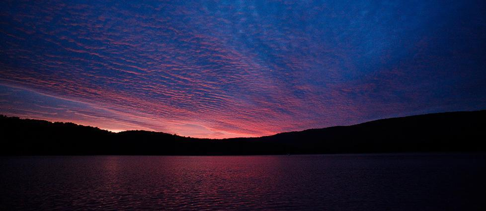 Spectacular Sunset at Raystown Lake (A.E Landes)