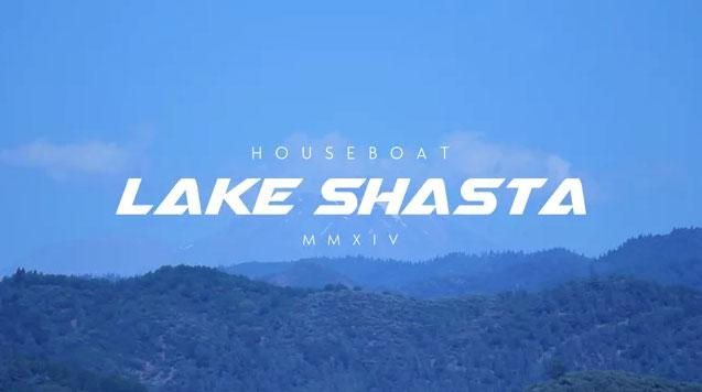 Houseboat Shasta Lake 2014