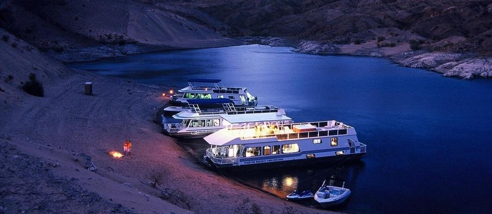 Lake mead houseboat rentals and vacation information for Houseboats for rent in california