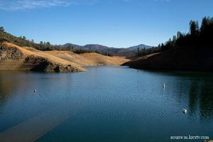 Water Levels on Lake Shasta