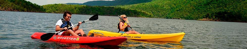 Kayaking on Raystown Lake (Michael reed)