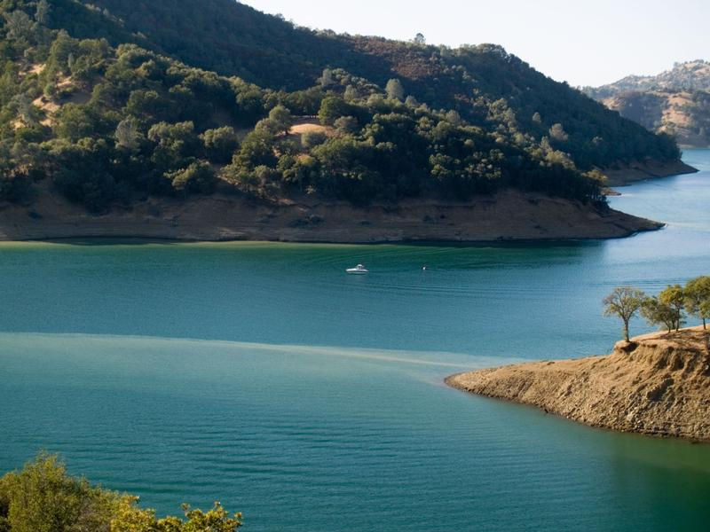 Lake Berryessa is a mountain gem