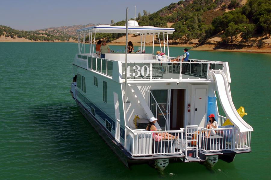 Take them on a houseboat vacation that they'll never forget