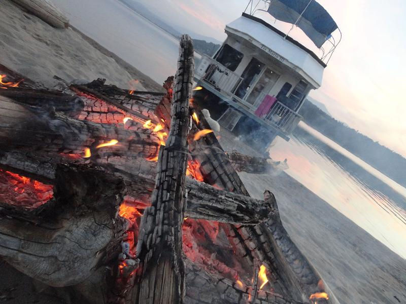 Find your beach for the night to enjoy a cozy evening by the fire