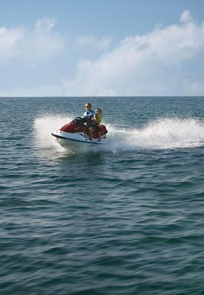 Personal watercraft make a great addition to any houseboat vacation Photos