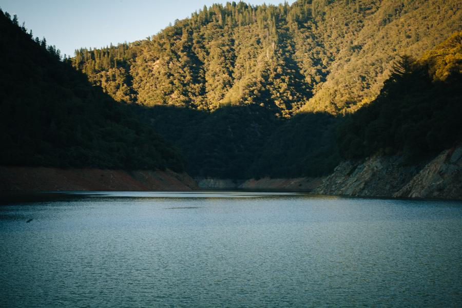 Cool off from a hot day in the sun in the shade at Lake Oroville