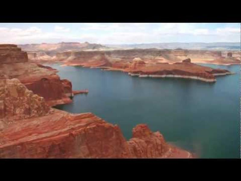 Lake Powell Aerial View Photos