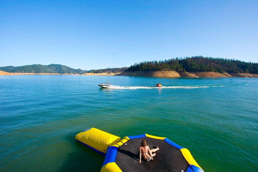 Countless activities can be enjoyed on the lake while soaking up sun