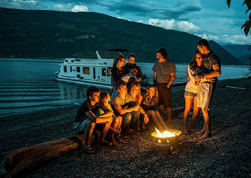 Enjoy late nights by the campfire surrounded by those you love