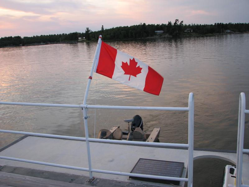 Travel through Canadian waters