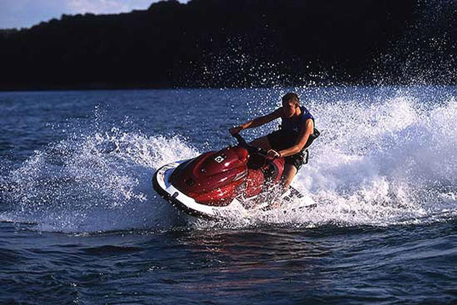 The speed and agility of a personal watercraft is not to be missed