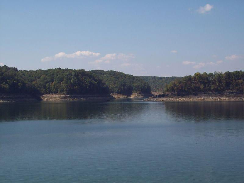 Lake Cumberland is a beautifully forested lake