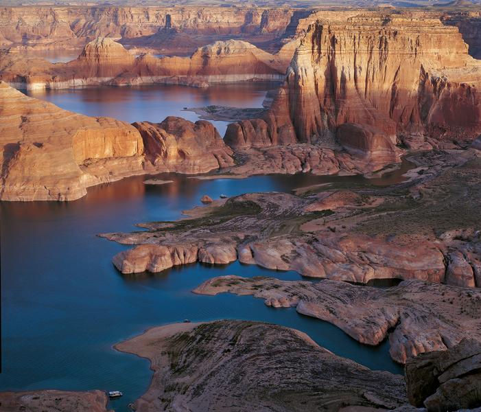 Stunning and unique scenery of Lake Powell