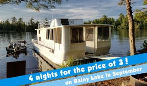 September 4 nights for the price of 3