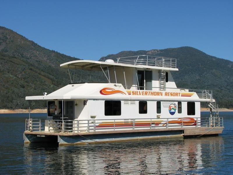 Shasta lake houseboats rentals for Houseboats for rent in california