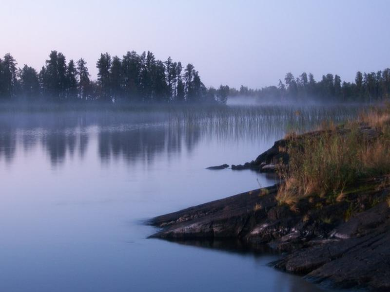 The misty waters of Rainy Lake call to visitors Photos
